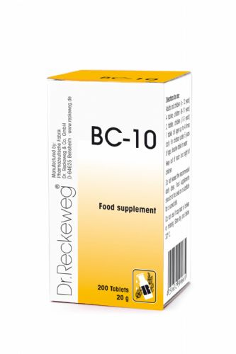 Schuessler BC10 combination cell salt - tissue salt